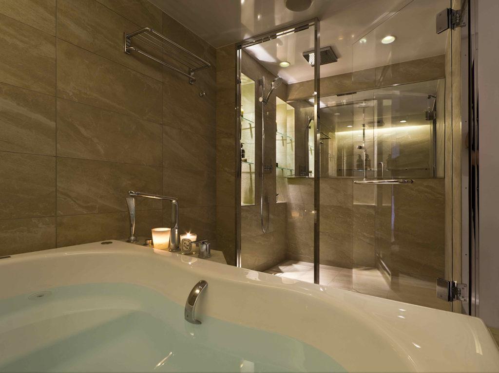 シャワーの日、お風呂の日